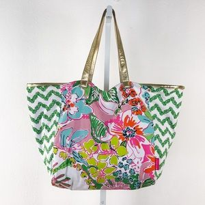Lilly Pulitzer For Target Multi Color & Print Tote